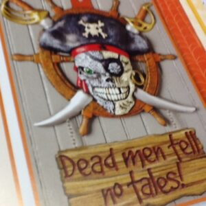Decor Pirates Dead Men Tell no tales