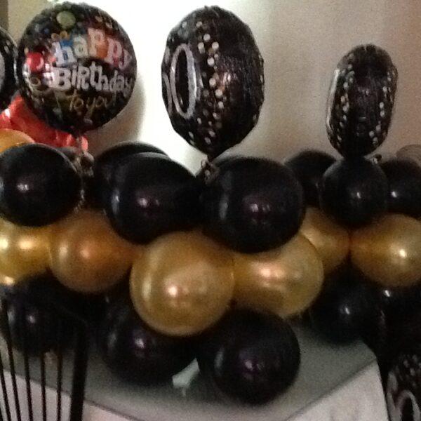 A Balloon Bouquet Centerpiece