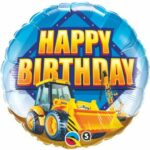Construction Balloon HBD 18in