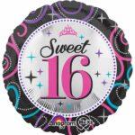 16 Balloon sparkle 18″