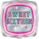16 Balloon Sweet Sixteen 18in