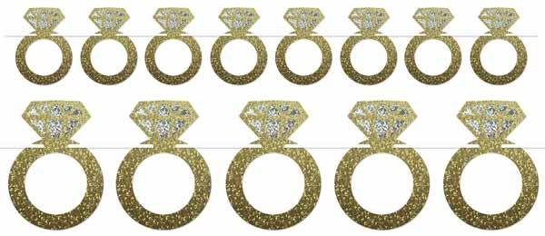 A Banner  Diamond Rings