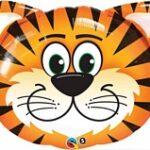 Jungle Animal Balloon Tiger Head supershape
