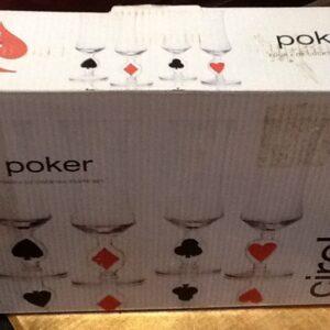 Casino Poker Glasses