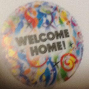 Balloon Welcome Home