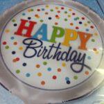 Balloon Birthday Dots rainbow