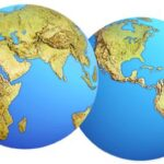 Space Planet Earth Cutout