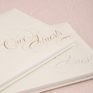 A Elegance Guest Book