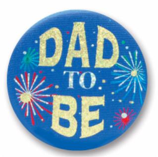 Button Dad To Be