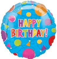 Balloon Birthday 18″