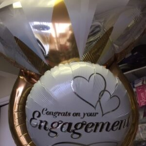 Balloon Ring and Engagement balloon