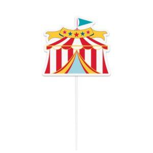 Cake Topper Circus tent