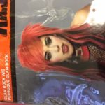 cos acc wig rocker glam rockred blk