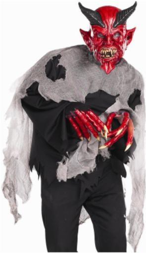 cos m devil mask hand shrt ema806 29.99