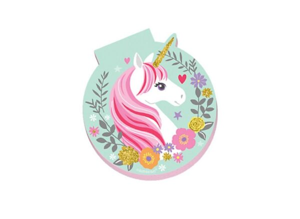 bday unicorn mini notepad ams