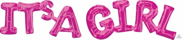 Phrase IT'S A Girl (Pink)