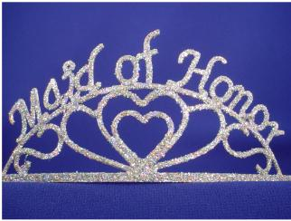 bridal shwr tiara maid of honor d50632