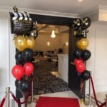 decor bal hollywood coloumn and red blk latex for A SEMI