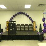 grad decor dr bette ste schoold purple 2019
