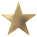 party acc star cutout gold 9in 19997 .19 .98