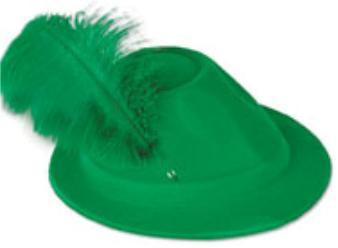 thanksgi hat alpind gren velou with plume r33939 7.99
