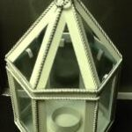 wed acc lantern wht rental