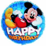 bday bal mickey hbd 18in 81640