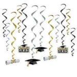 grad hanging decor 12 ct 52118