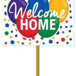 welcome home lawn sign r53830